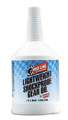 Red Line LightWeight ShockProof Gear Oil Quart #: 58404 (3 Qts)