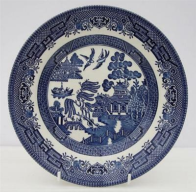 Willow Pattern Vintage Salad Plate Churchill