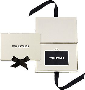 Brand New £120 Whistles Gift Card