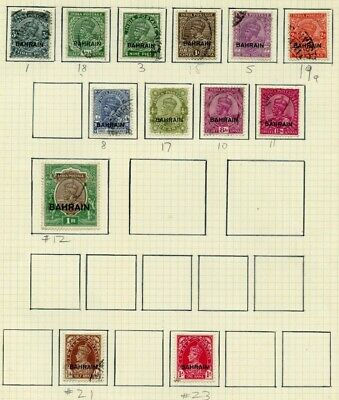 Weeda Bahrain 1//23 Mostly used collection on pages CV $67.55