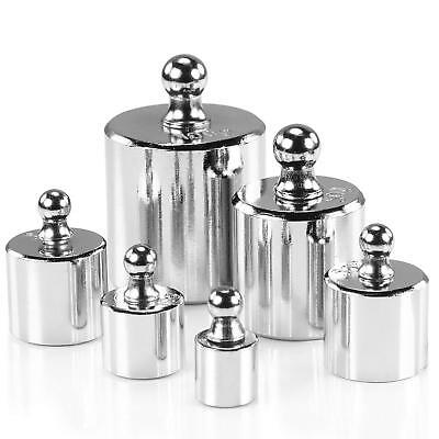 100g 50g 20g 10g 5g Grams Precision Chrome Calibration Jewelry Scale Weight Set