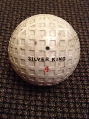Vintage Silver King 4 Golf Ball