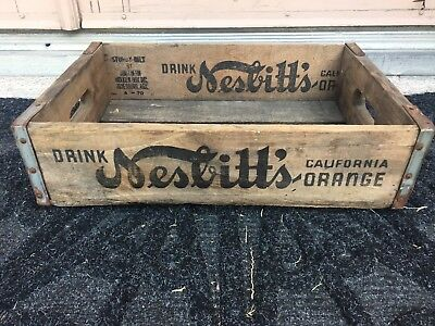 Drink Nesbitts Crate- Dated 4-70