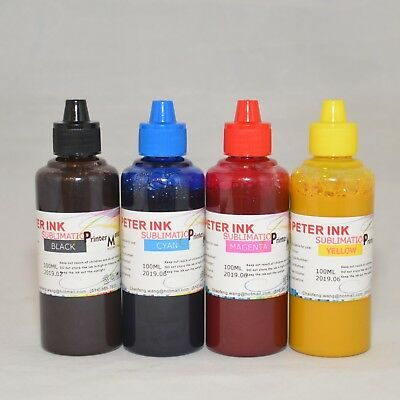 4X100Ml Gel Sublimation Ink For Ricoh Sg2010 Sg2010L Sg2010N Gc-41 Gc41 Ciss