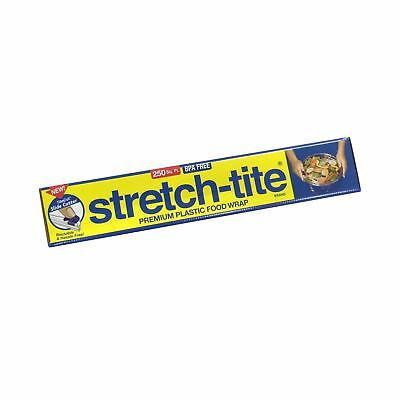 Stretch-Tite Premium Food Wrap With Titecut Slide Cutter 250 Count