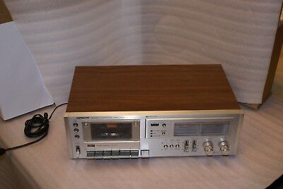 Hitachi D720 Cassette Deck RARE TESTED WORKING