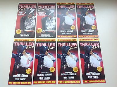 8 x different flyer THRILLER