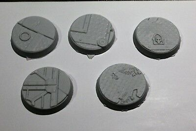 Warhammer 32mm Resin Scenic Bases