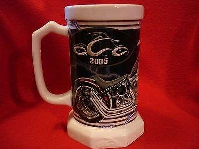 2005 Orange County Choppers, Inc. New York Porcelain Collectible Beer Stein / Mu