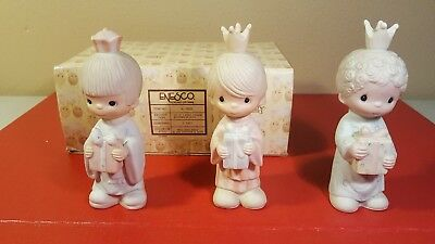 Precious Moments Enesco E-5635 Wee Three Kings