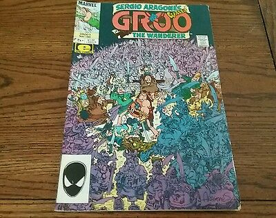 Sergio Aragones Groo The Wanderer Comic Marvel Comics Vol 2 #3 May 1985