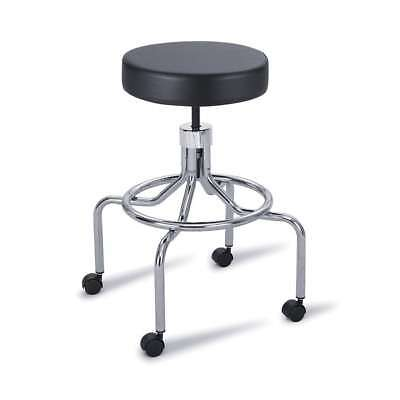 Safco High-Base Stool with Screw Lift 3433BL