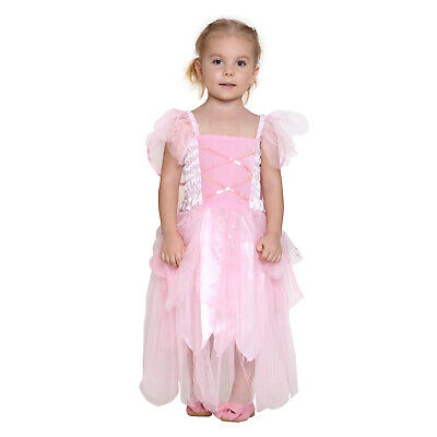 Girls Princess Pixie Butterfly Fairy Wing Dress Up Party Costume
