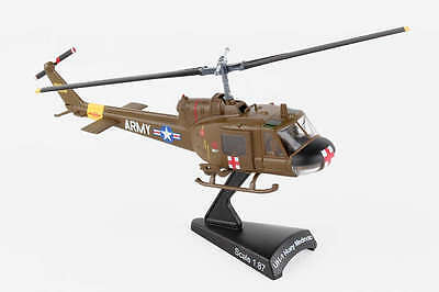 Postage Stamp Us Army Uh-1 Huey Medevac 1/87 Model Helicopter Ps5601-2