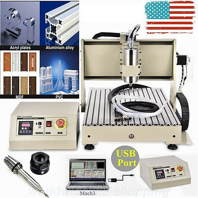 3 AXIS  6040 1.5KW USB CNC Router Engraver 3D Engraving Drilling Milling Machine