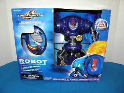 Vintage 1997 Lost In Space Motorized Robot New Sealed