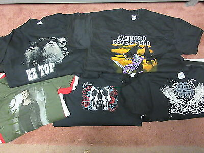 New - 50 Different Mens +5 Bonus Wholesale Lot Concert Music Band T-Shirt S-2Xl