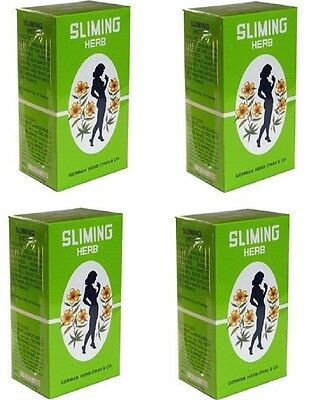 *best* 200 Bags Slimming German Herb Tea Burn Diet Slim Fit Fast Detox Laxative