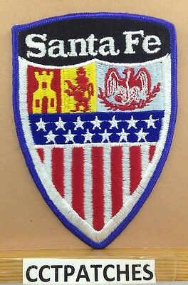 Santa Fe, New Mexico Police (Without Police) Shoulder Patch Nm