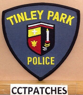 Tinley Park, Illinois Police Shoulder Patch Il