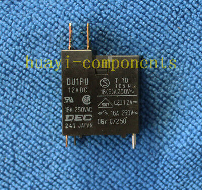 1pcs DU1PU 12VDC DEC Relay