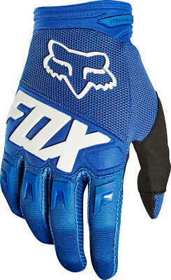 2018 Fox  Dirtpaw Race Glove Motorcycle Mtb Gloves - Blue