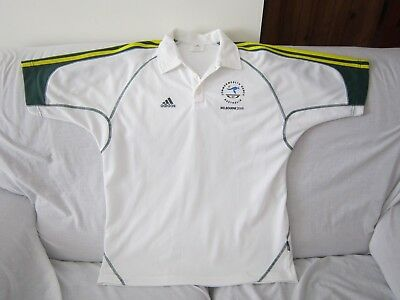 Melbourne Commonwealth Games 2006 Australia Adidas Polo Shirt Size Large