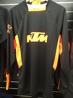 KTM Original Pounce Jersey Black/Orange