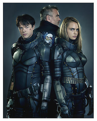 """""""VALERIAN"""" and the city of a thousand planets """"Cast"""" 8x10 Photo"""