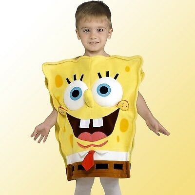 Kids SpongeBob SquarePants Costume Funny Child Cartoon Character Party Outfit