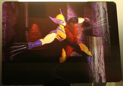 1996 MARVEL MOTION Virtual Vision Card #4 WOLVERINE