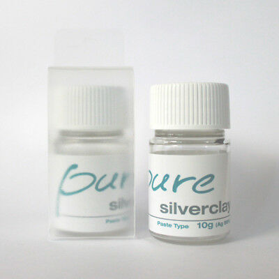 Pure silver clay 10g Paste type