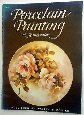 PAINTING  BOOK - PORCELAIN PAINTING with Jean Sadler