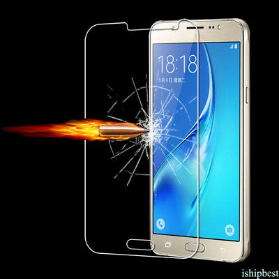 Premium Real Screen Protector Tempered Glass Film For Samsung Galaxy J5 J7 prime