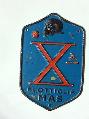 Badge For X Flottiglia Mas Italy 1943