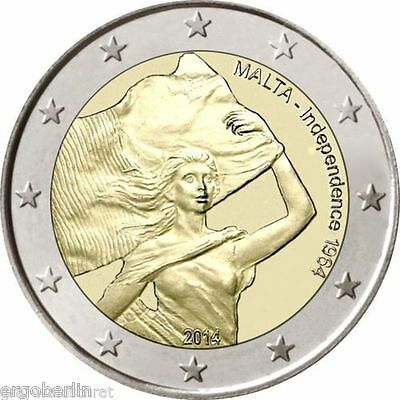 Commemorative coin/commemorative coin Malta 2014 1964 Independence without