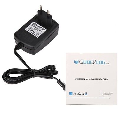 """5V 2A AC-DC Power Supply Adapter Charger Plug for 9"""" @TAB NINE Android Tablet EU"""