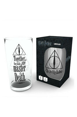 Harry Potter, Deathly Hallows Glas Gro? 500ml