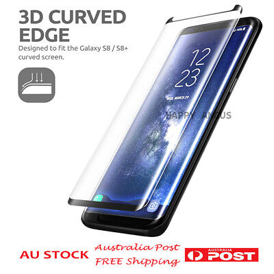 3D Full Cover Tempered Glass Screen Protector for Samsung Galaxy Note 8 S8 Plus