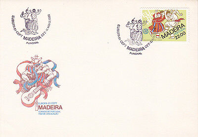 PORTUGAL / Madeira EUROPA FIRST DAY COVER 1981