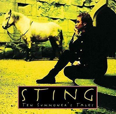 STING ~ TEN SUMMONERS TALES ~ 180gsm VINYL LP plus MP3 D'LOAD ~ *NEW/SEALED*