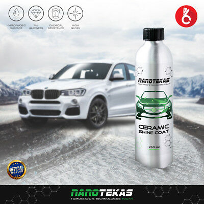Nano Ceramic Coating Armor For Car Paint Body Rims Plastic Surface Protection 9h