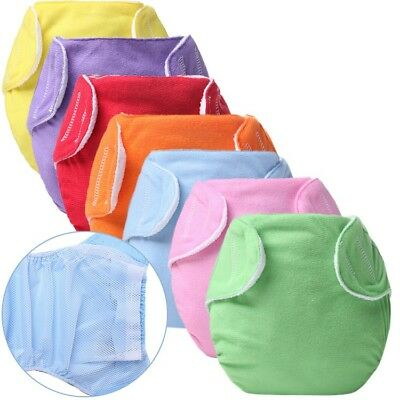 1PC New Pack Reusable Washable One Size Pocket Baby Cloth Diapers