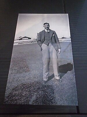 Very Rare Reprints of Private Photos of Rugby League Legend Jim Sullivan
