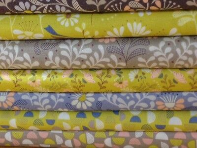 Lewis and Irene A Little Bird Told Me Collection fabrics by the half metre