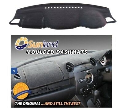 Dash Mat Moulded Charcoal for Mitsubishi Triton MQ MY16 Dashmat Lifetime Wty