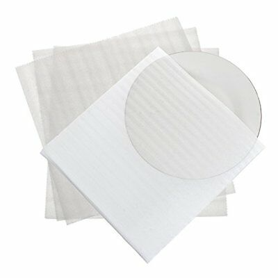 """Foam Wrap Cup Pouches 11 7/8"""" x 12 1/8"""" 30 Count Cushion Pouches  Protect Dishes"""