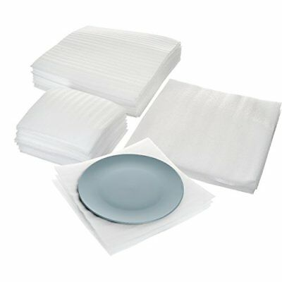 Cushion Foam Sheet and Pouch Variety Bundle Pack (60 Pack), Packing Supplies