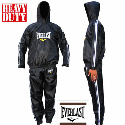 Everlast Heavy Duty Sauna Sweat Suit Track Suit Weight loss Slimming Boxing Gym
