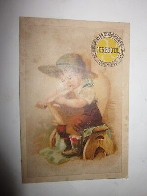 1904 Trade Card Ceresota Northwestern Consolidated Milling Co Minneapolis MN Feb